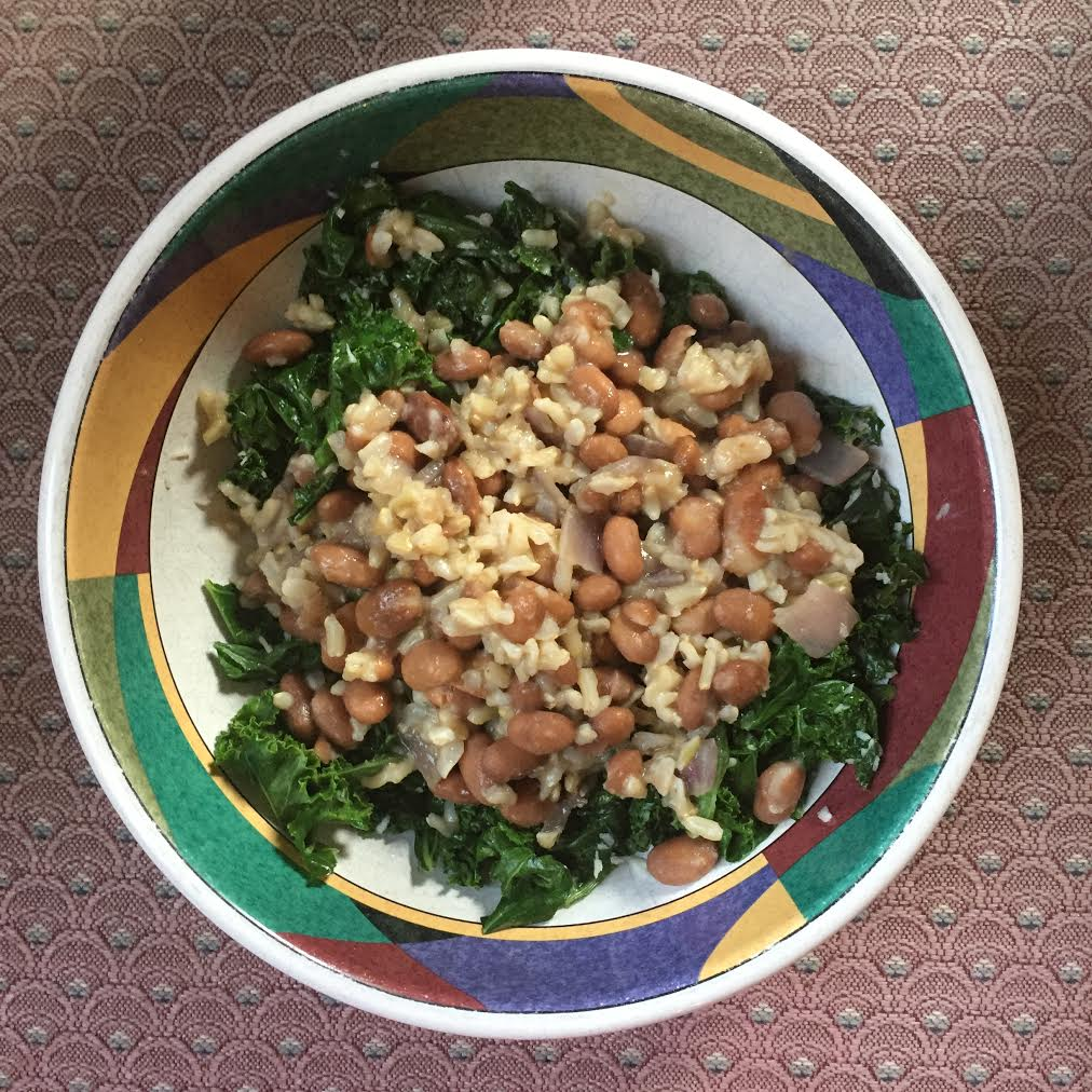 Pinto Beans And Rice With Kale Conscious Healthy Mama
