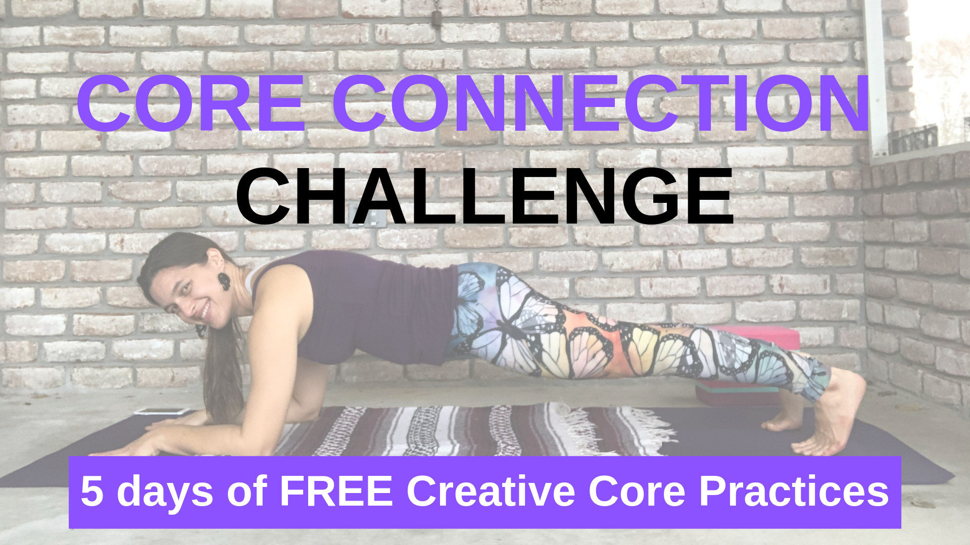 Core Connection Challenge Conscious Healthy Mama