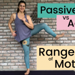 passive vs active range of motion