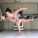 workout you can do in your kitchen